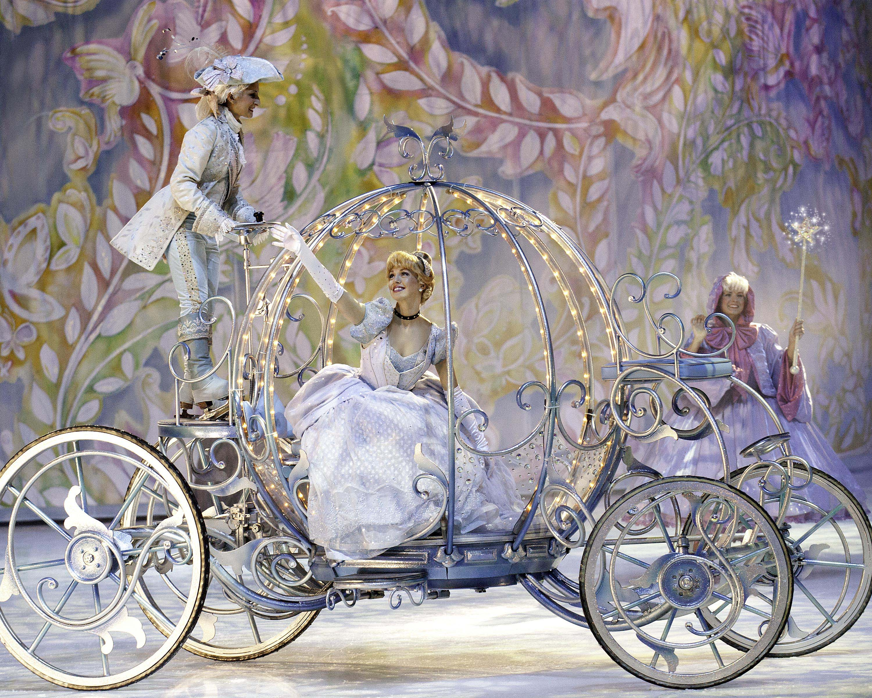 Cinderella In Carriage