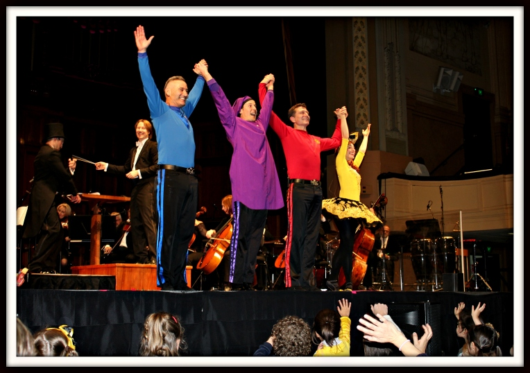 The Wiggles take a bow