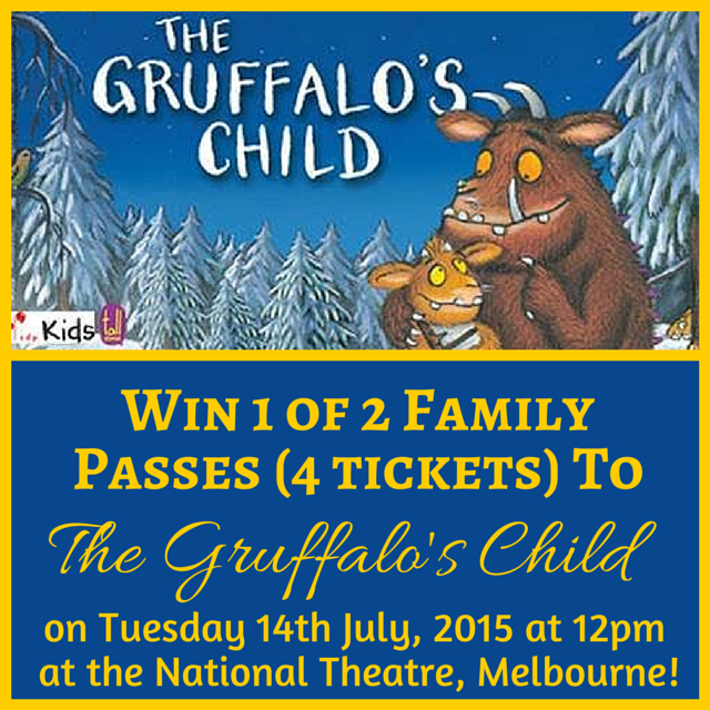 Win tickets to Gruffalo's Child