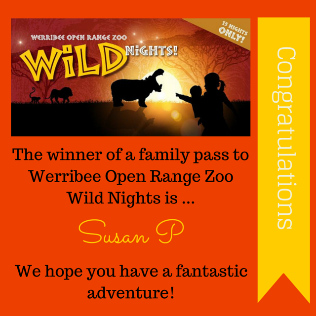 Winners of Wild Nights