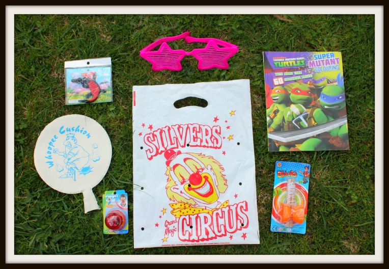 $7 Silvers Circus Show Bag Contents
