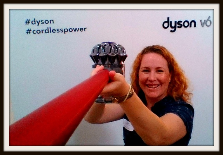 The Dyson V6 Absolute makes a great selfie stick!