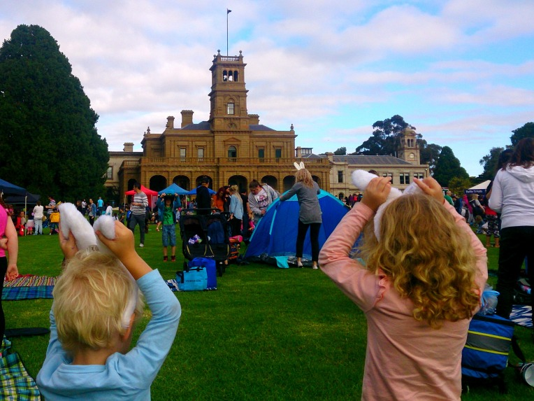 Cadbury Easter Egg Hunt 2016 Werribee Park