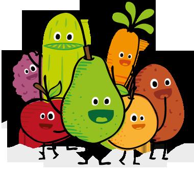 nude fruit-group